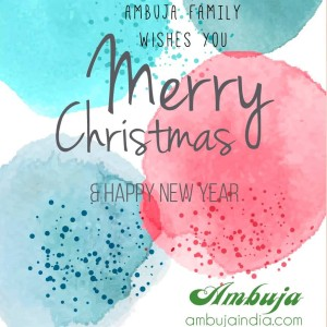 Merry Christmas From Ambuja Intermediates Ltd